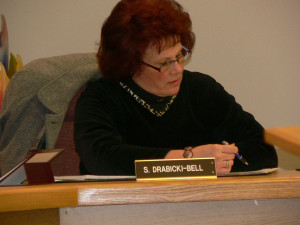 President Sandy Drabicki-Bell (elected)