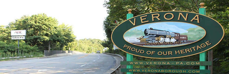 WELCOME TO VERONA, PA
