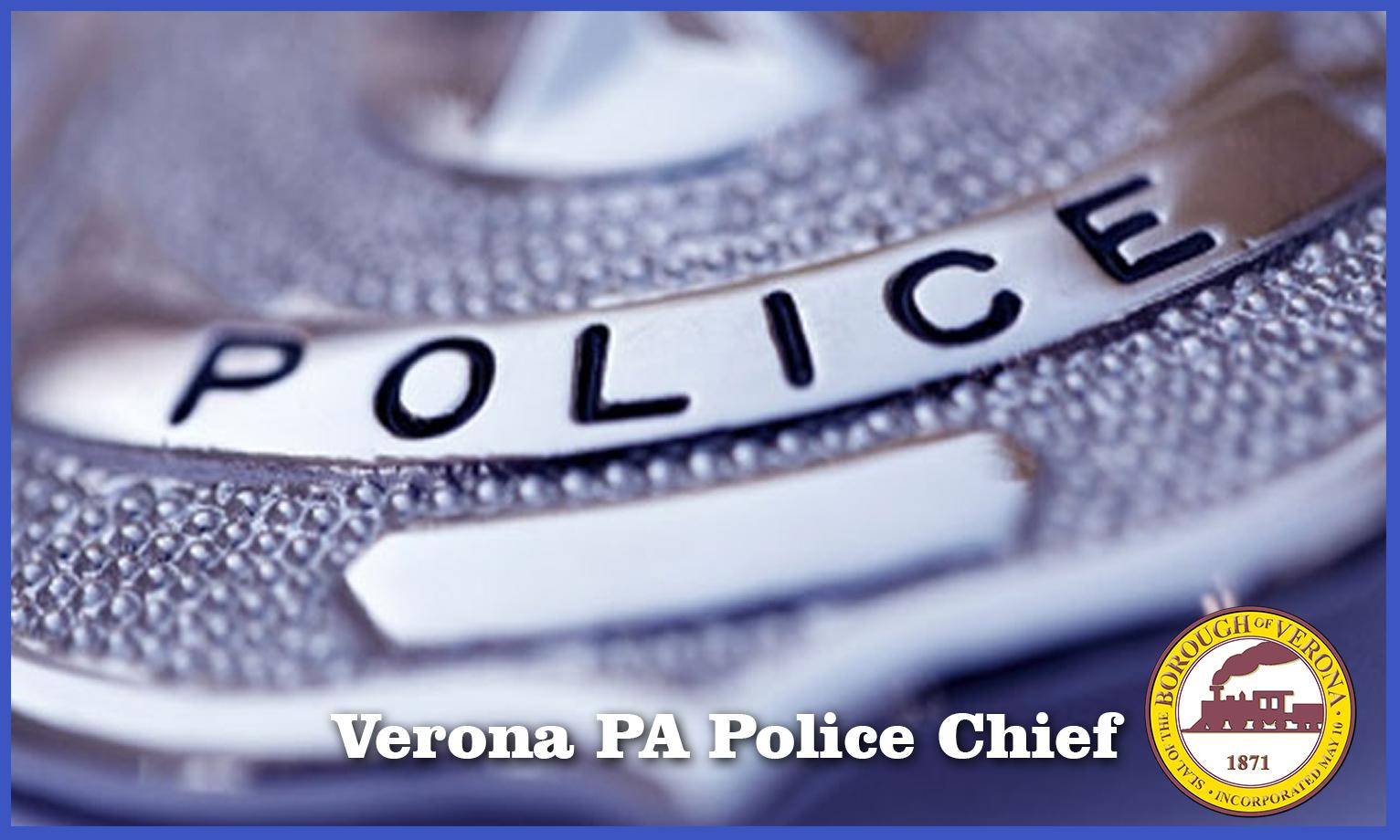 Verona PA Police chief